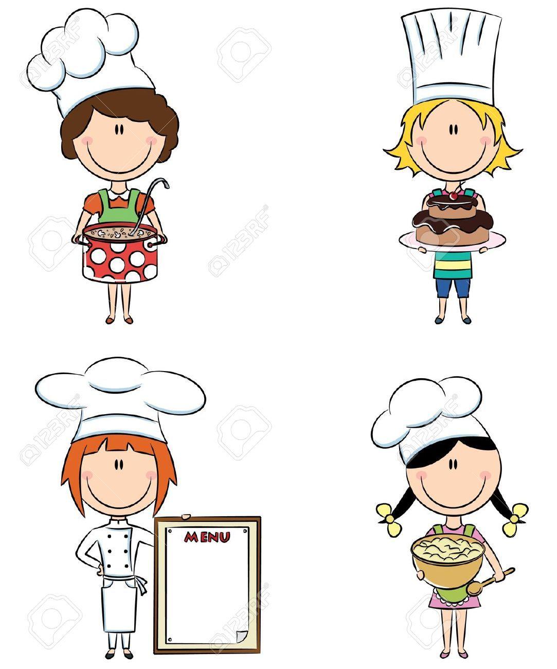 Nina Chef Caricatura Buscar Con Google Chef Caricatura Dibujos De Cocineras Garabatos Lindos