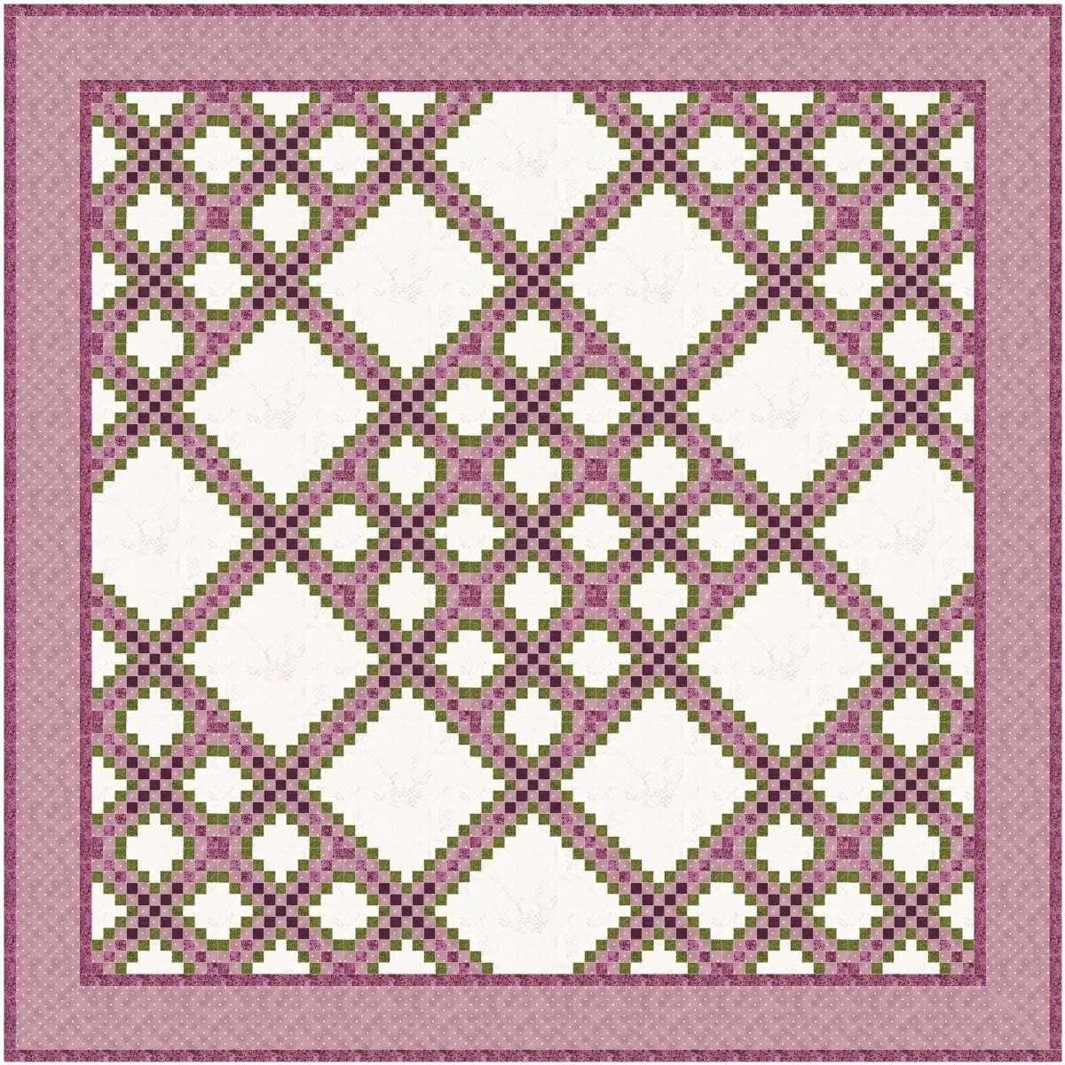 Triple Irish Chain 1, 2 and 3   Irish chain quilt, Patterns and Craft : triple irish chain quilt pattern - Adamdwight.com