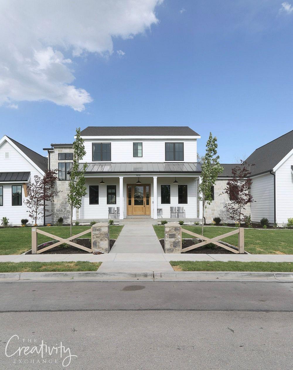 2018 Utah Valley Parade Of Homes Recap Modern Farmhouse Exterior Modern Farmhouse Style House Exterior