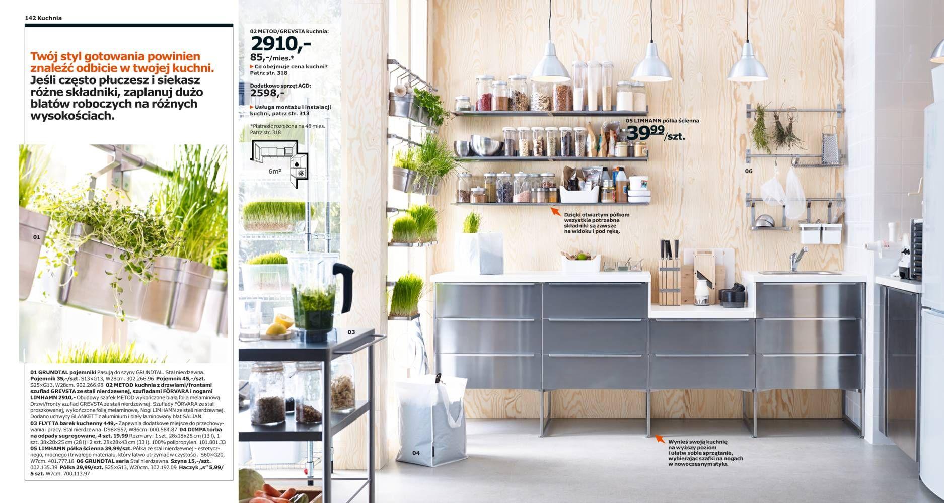 Katalog Ikea 2015 Rośliny Kuchnia Ikea I Wnętrza