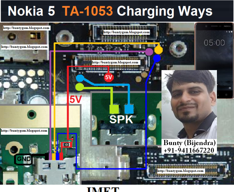 Nokia 5 Charging Usb Problem Solution Jumper Ways