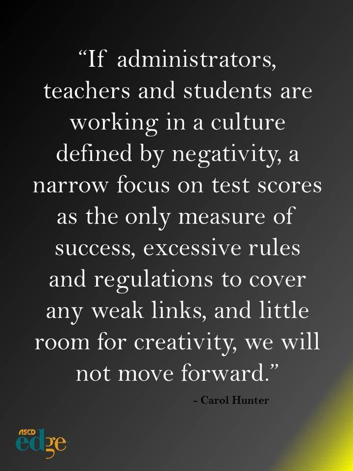 Creating Purposeful School Cultures by Carol Hunter