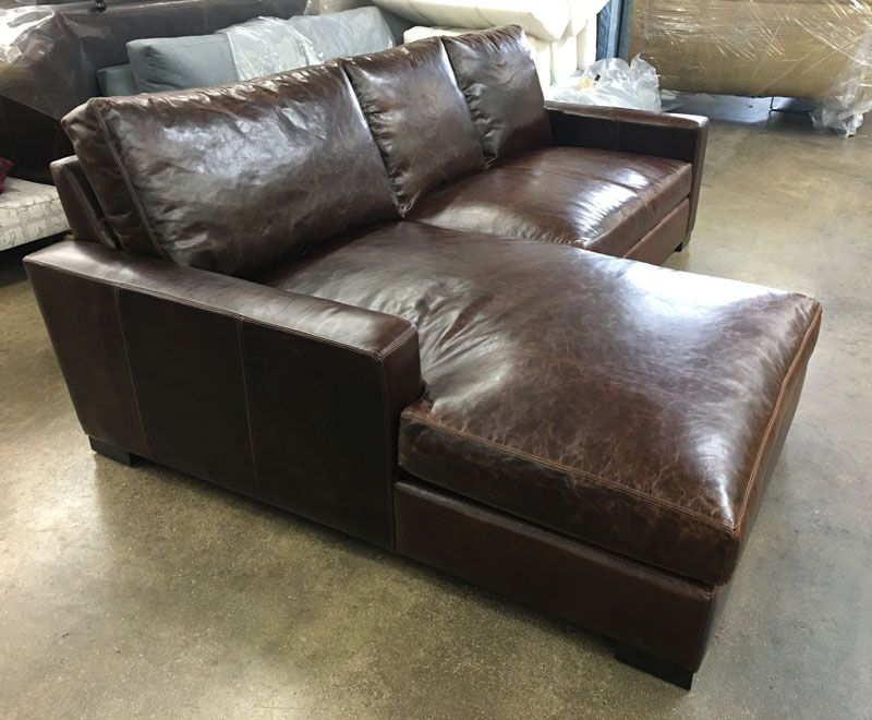 Attractive This Client Needed Our Braxton Sofa Chaise Sectional To Be Just A Bit  Smaller, So