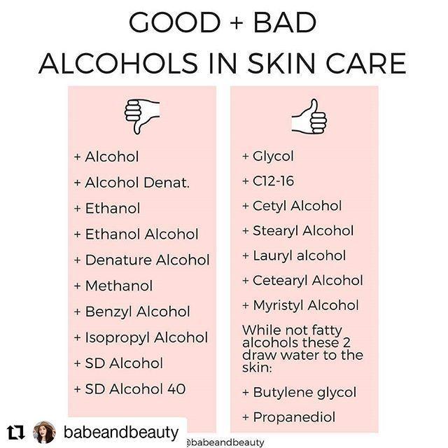 Alkohole in der Hautpflege - Das Gute und das Schlechte ... - #alkohole #das #der #gute #hautpflege