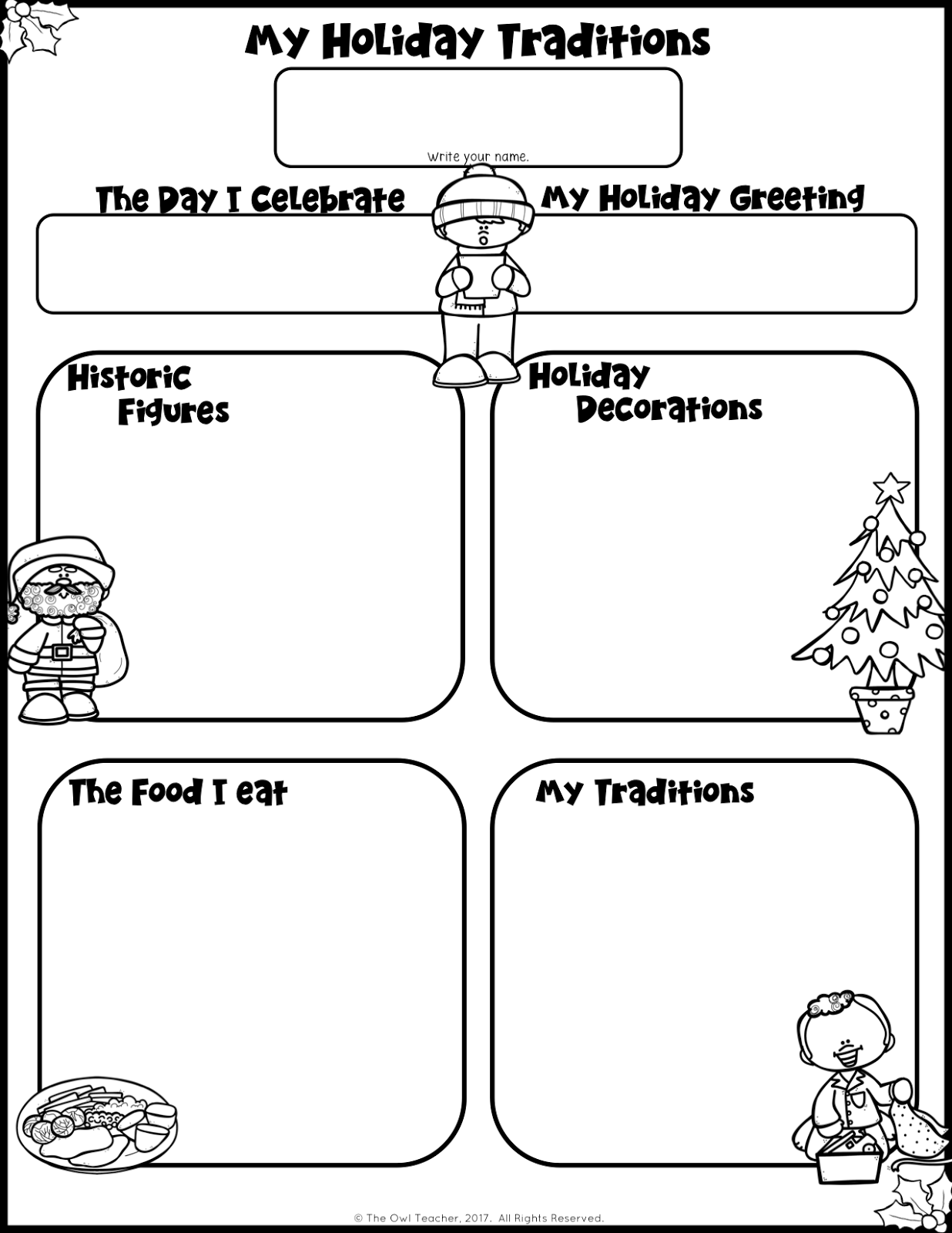 Image Result For Holiday Traditions Picture Organizer