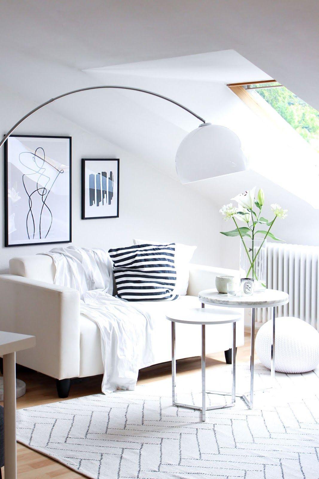 Interior One Line Drawings Und Schwarz Weiss Prints Von Desenio Mit Bildern Wohnzimmermobel Weiss Lampen Wohnzimmer Haus Deko
