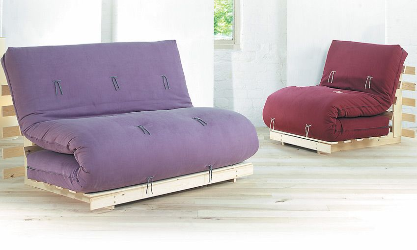 Fiji Sofa Bed Has A Folding Pine Base And 6 Layer Futon