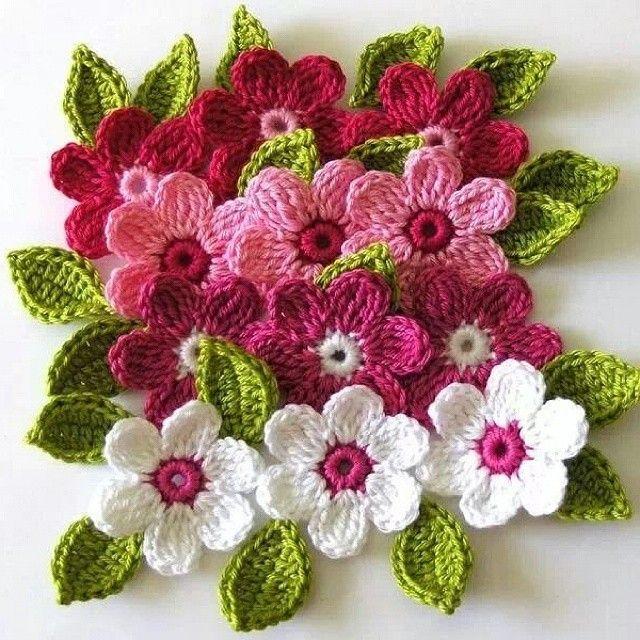 Pin By Cassianicolauhotmail Nicilau On Flor De Croche