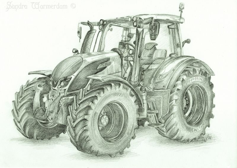 ausmalbild traktor fendt  my blog