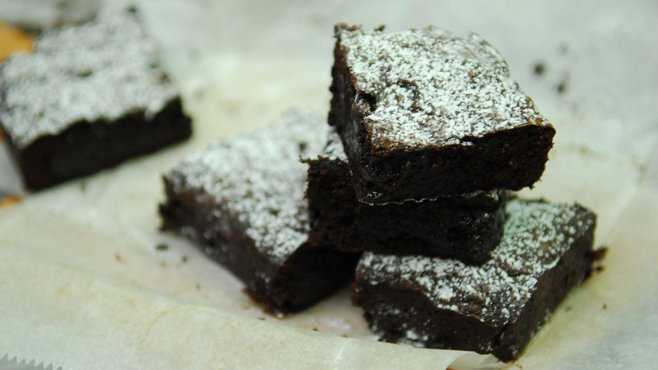 Receta De Brownie De Chocolate Youtube In 2021 Brownie Recipes Chocolate Brownie Recipe Easy Chocolate