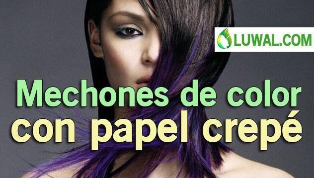 Mechones de color con papel crepé VER>> http://t.co/oYlSaiKMhZ  http://t.co/IWJm120wB6