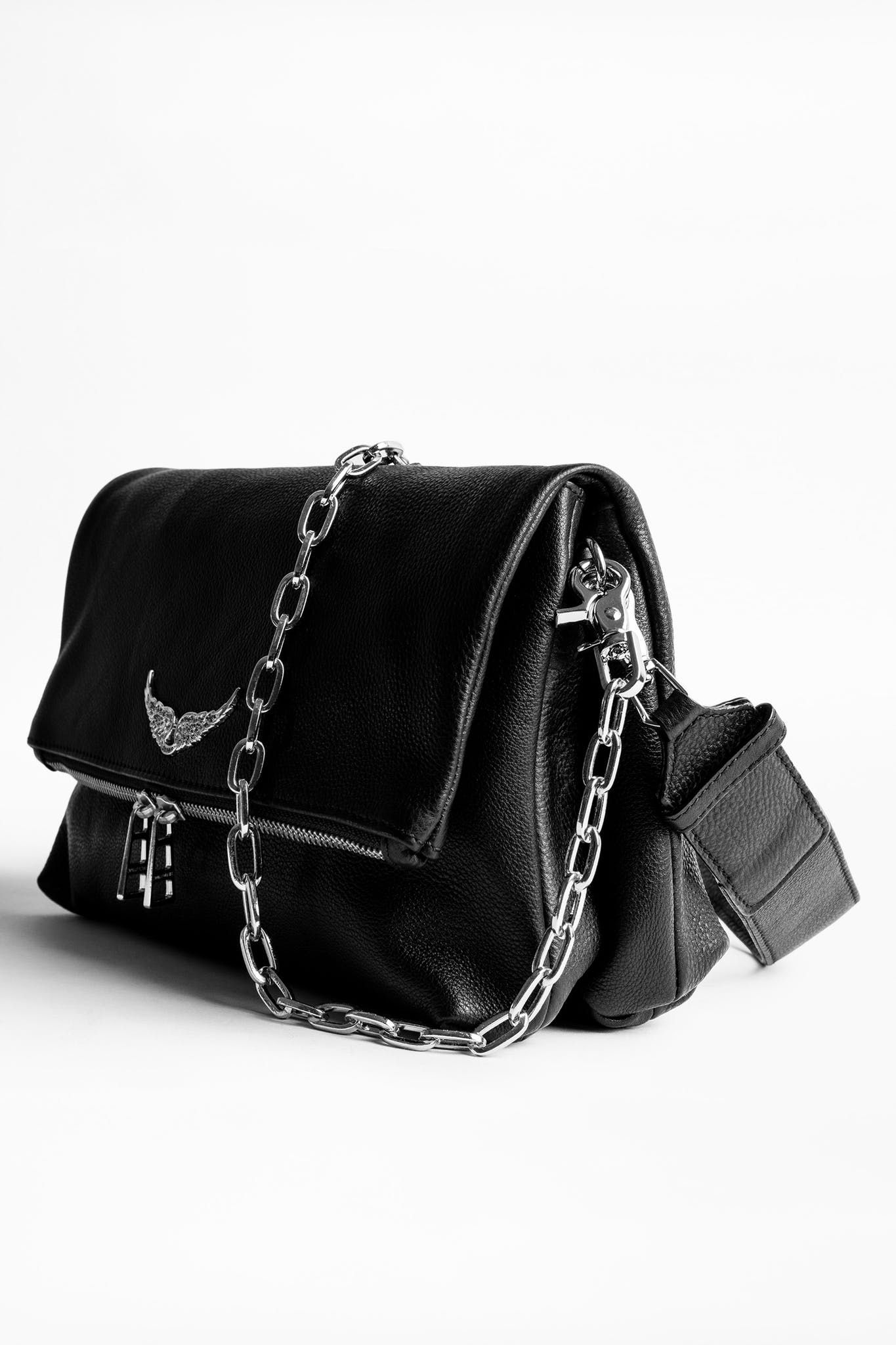 Rocky Bag Black Leather Bags Zadig And Voltaire Bags Women