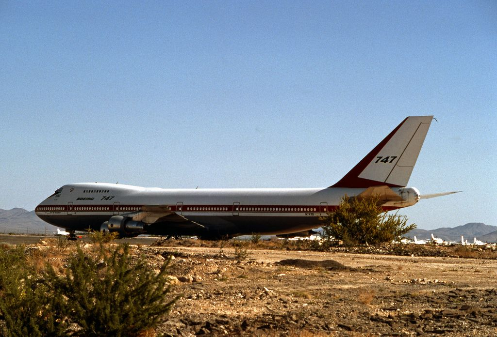 Boeing 747100 No. 1 Boeing 747, Aircraft, Commercial