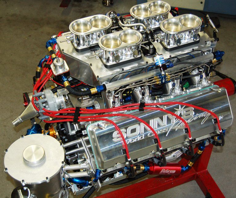 SONNY\'S 959 CU.IN WEDGE PRO MOD EFI, OVER 1800 HP N/A & OVER 3000 HP ...