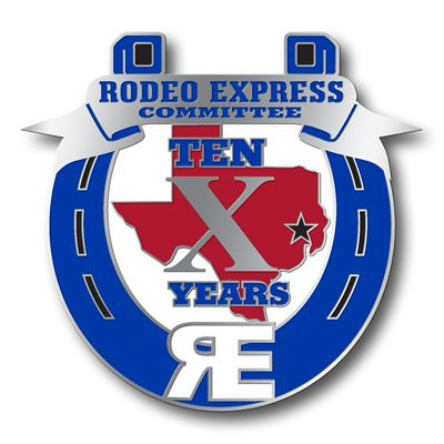 Houston Rodeo Express Committee | Corporate | Custom lapel pins
