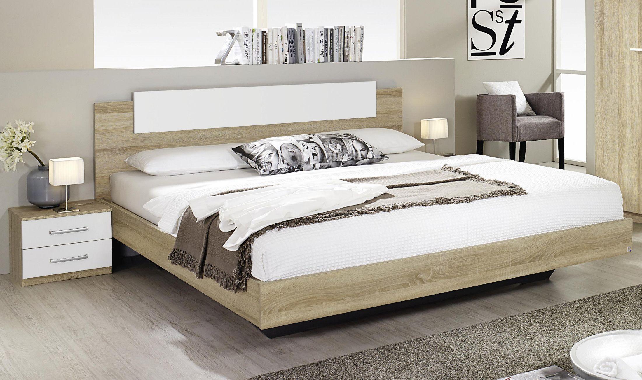 Bett 180 X 200 Cm Eiche Sonoma Mit Nakos Rauch Packs Borba Extra Modern Jetzt Bestellen Unte Komplettes Schlafzimmer Ideen Fur Kleine Schlafzimmer Vintage Bett