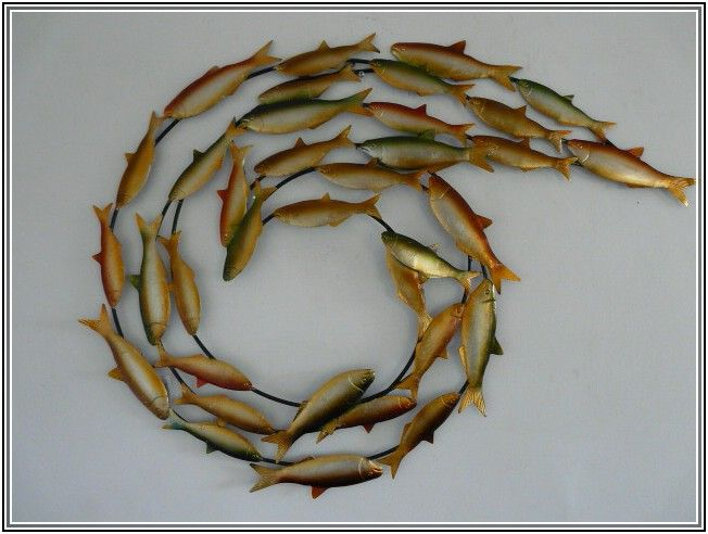 Fish Wall Art metal fish wall art sculptures | fish metal | pinterest | fish