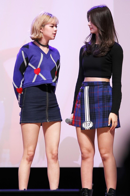 Twice Jeongyeon Tzuyu Sudden Attack Fan Meeting Kpop Fashion Fashion Pop Fashion