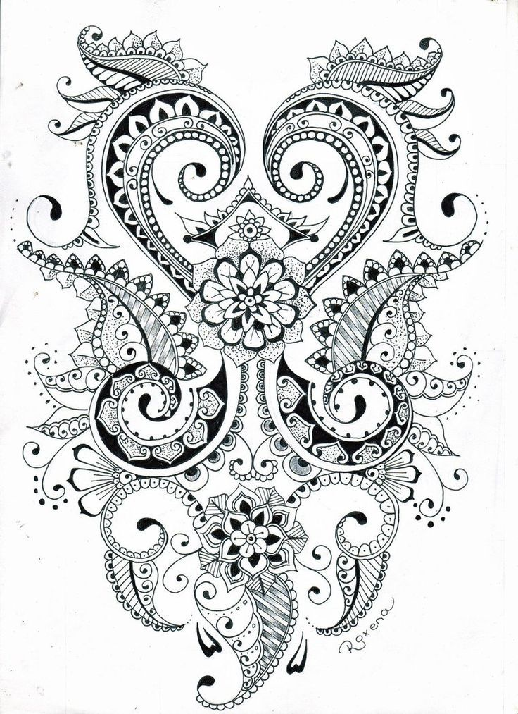 Mehndi flower design | drawings | Pinterest | Arte, Dibujos and Mandalas