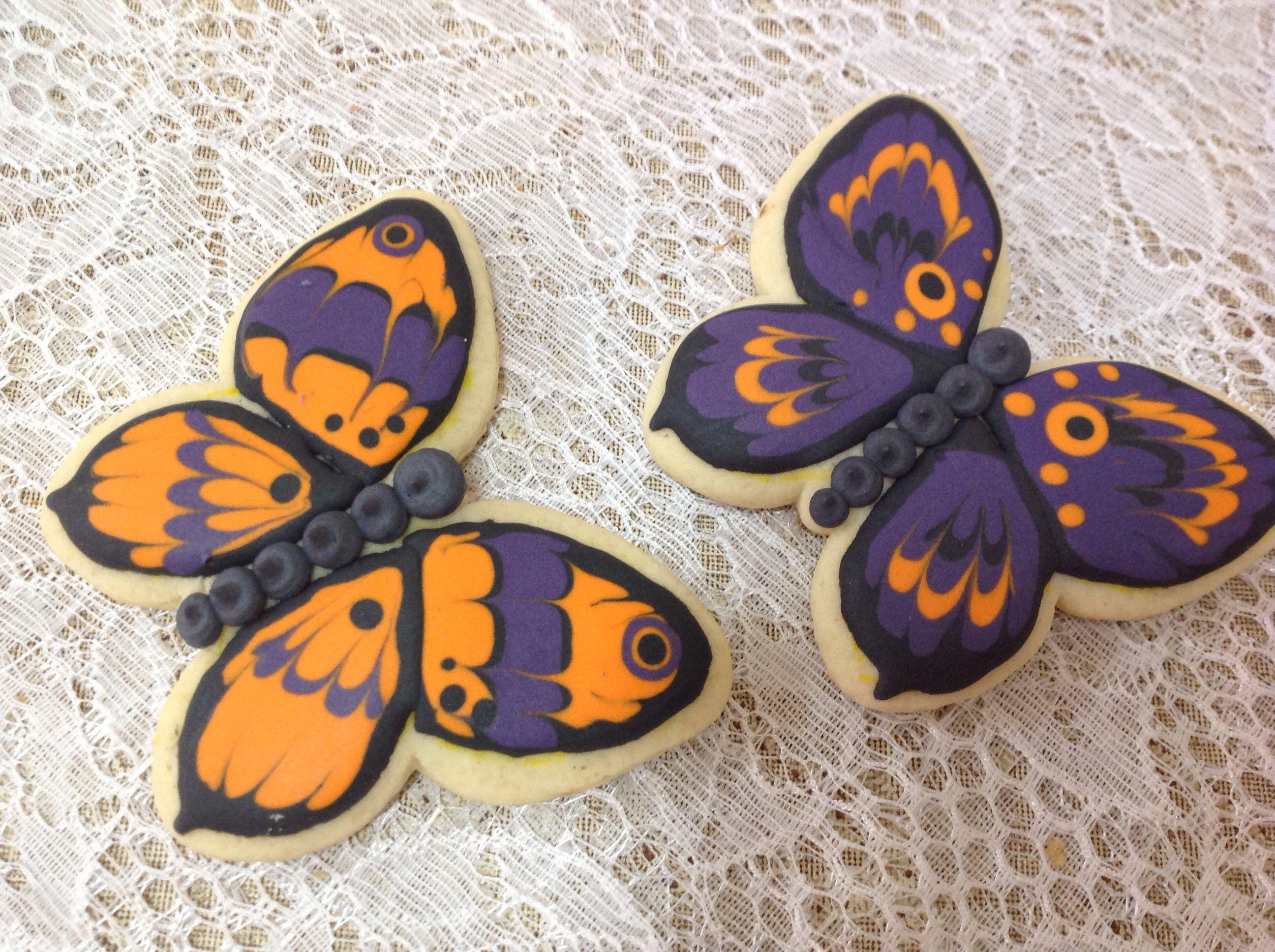 Buterfly Cookies - Facebook Senhora Biscoito