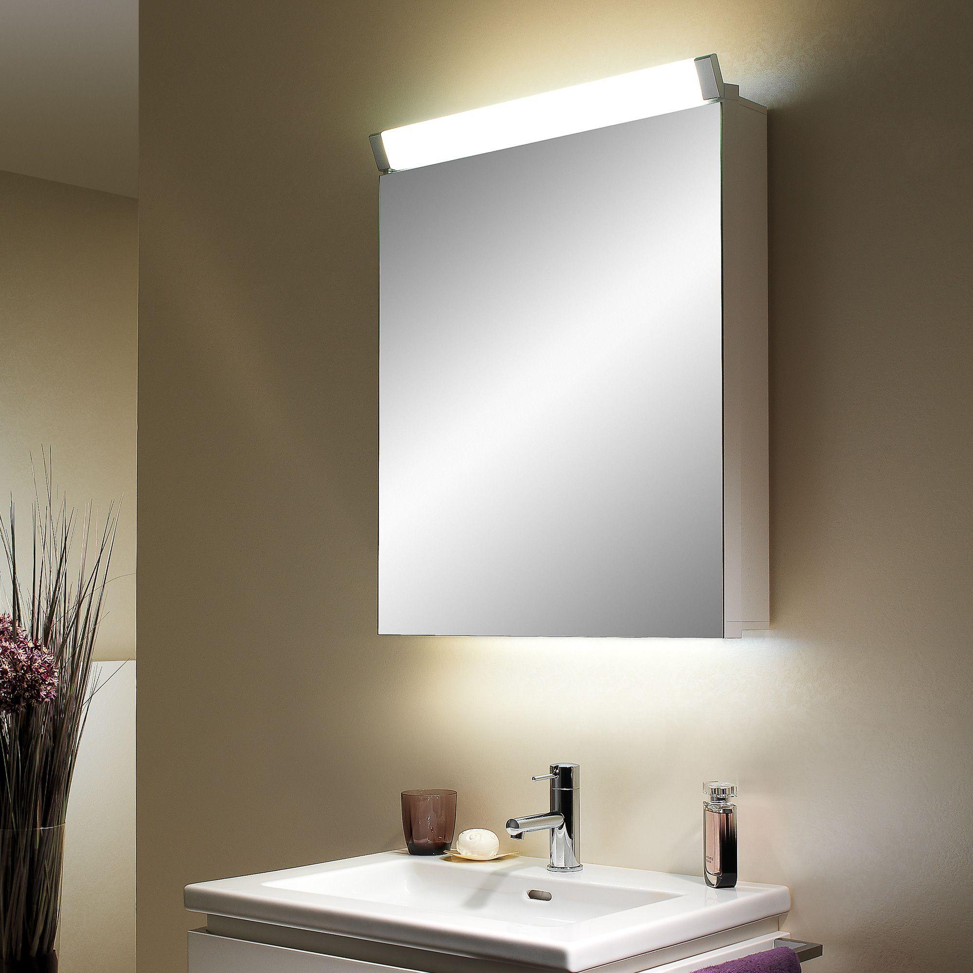 Schneider Paliline Illuminated Mirror Cabinet With 1 Door W 60 H 76 D 145 Cm Schn 159 050 02 50 0 Jpg 2000 2000 Mirror Cabinets Bathroom Design Mirror