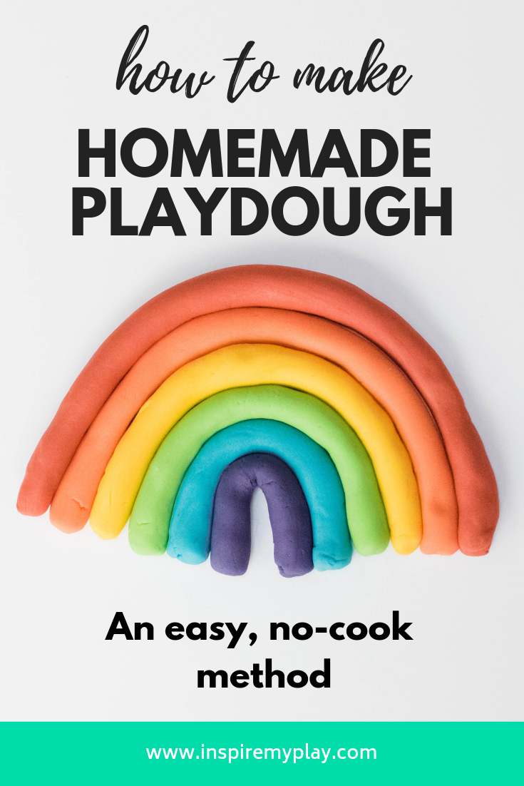 Our Favourite Nocook Play Dough Recipe in 2020 Homemade