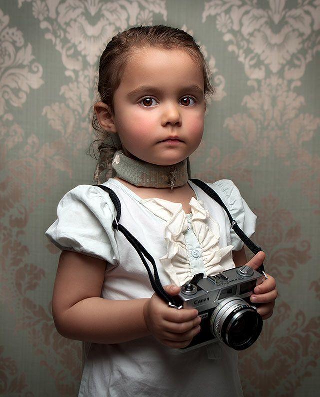 Retro #Child..  So pretty!!
