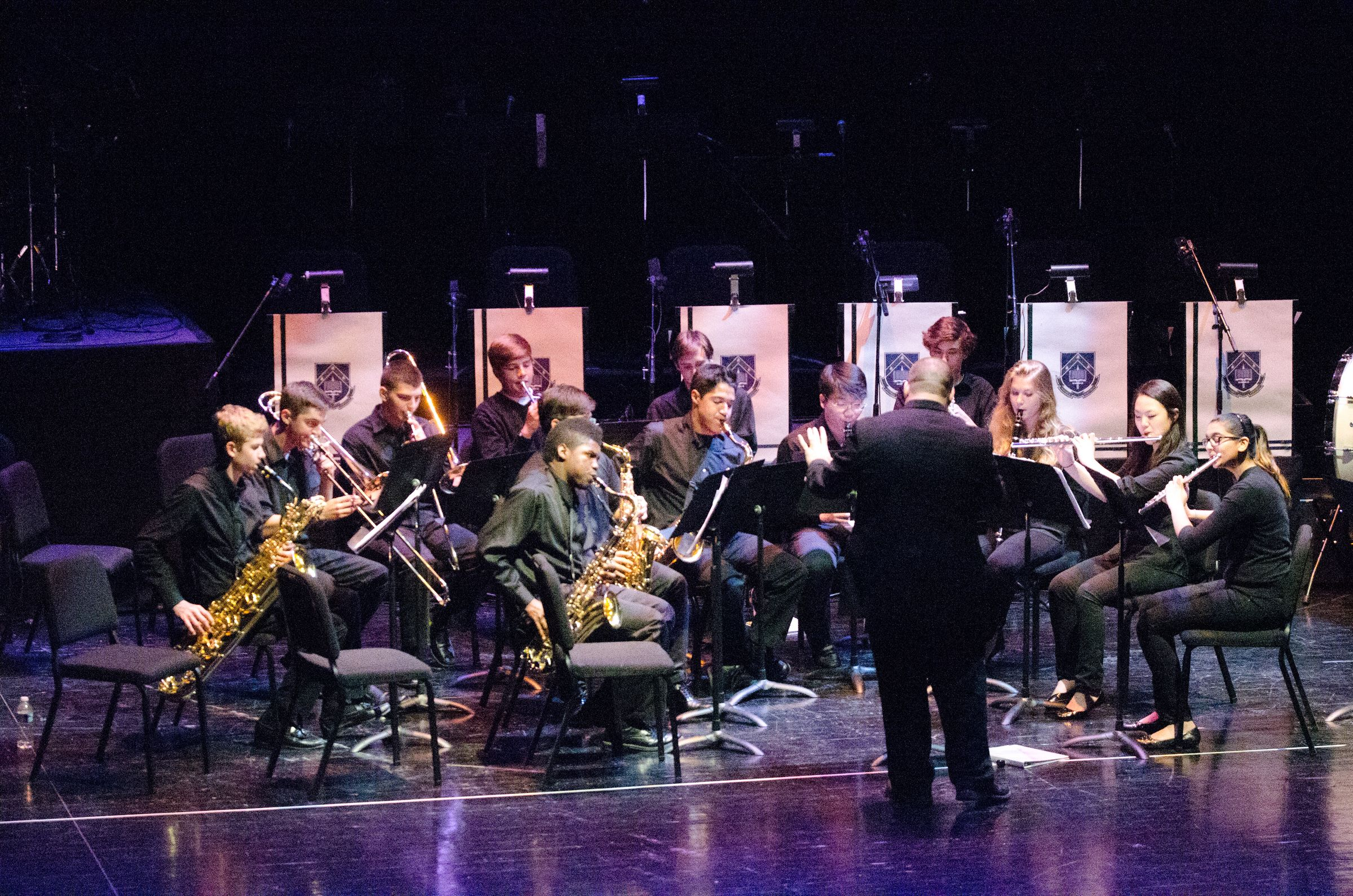 Jazz Band Performance Arts Jam At Gmu April