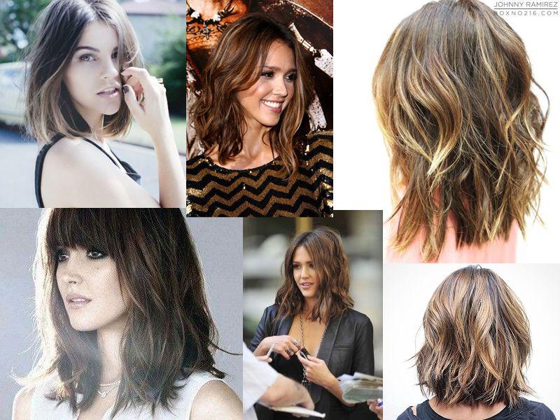 La cas du changement de coiffure Du très long au carré