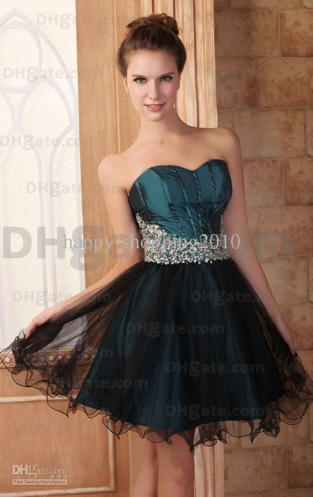 Sexy Dark Green Graduation Dresses for 8th Grade College High ...
