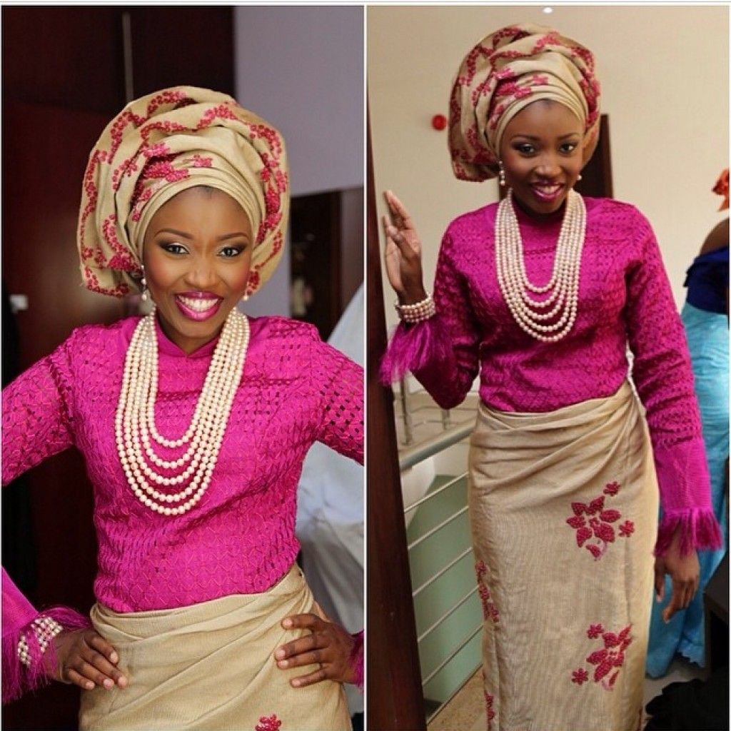 Trendsetting Yoruba Brides Fashion & Style LookBook - Wedding Digest ...
