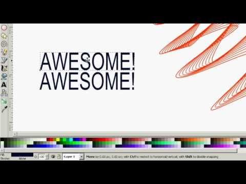 Learn Digital Design With Inkscape Tutorials 50 Videos Available Gimp Tutorial Graphic Design Tutorials Tutorial
