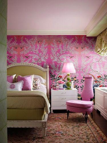 Colores beige y rosa oscuro para esta habitaci n - Tapiceria y decoracion ...