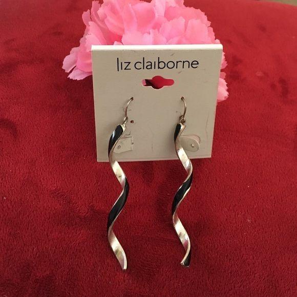 Spiral dangling long earrings Spiral dangling long earrings unknown brand Jewelry Earrings