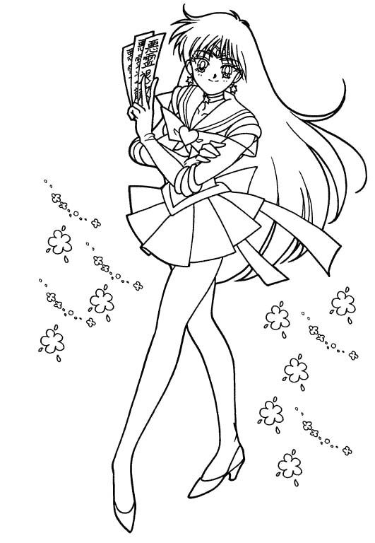 sailor moon girl coloring book - Girls Coloring Book