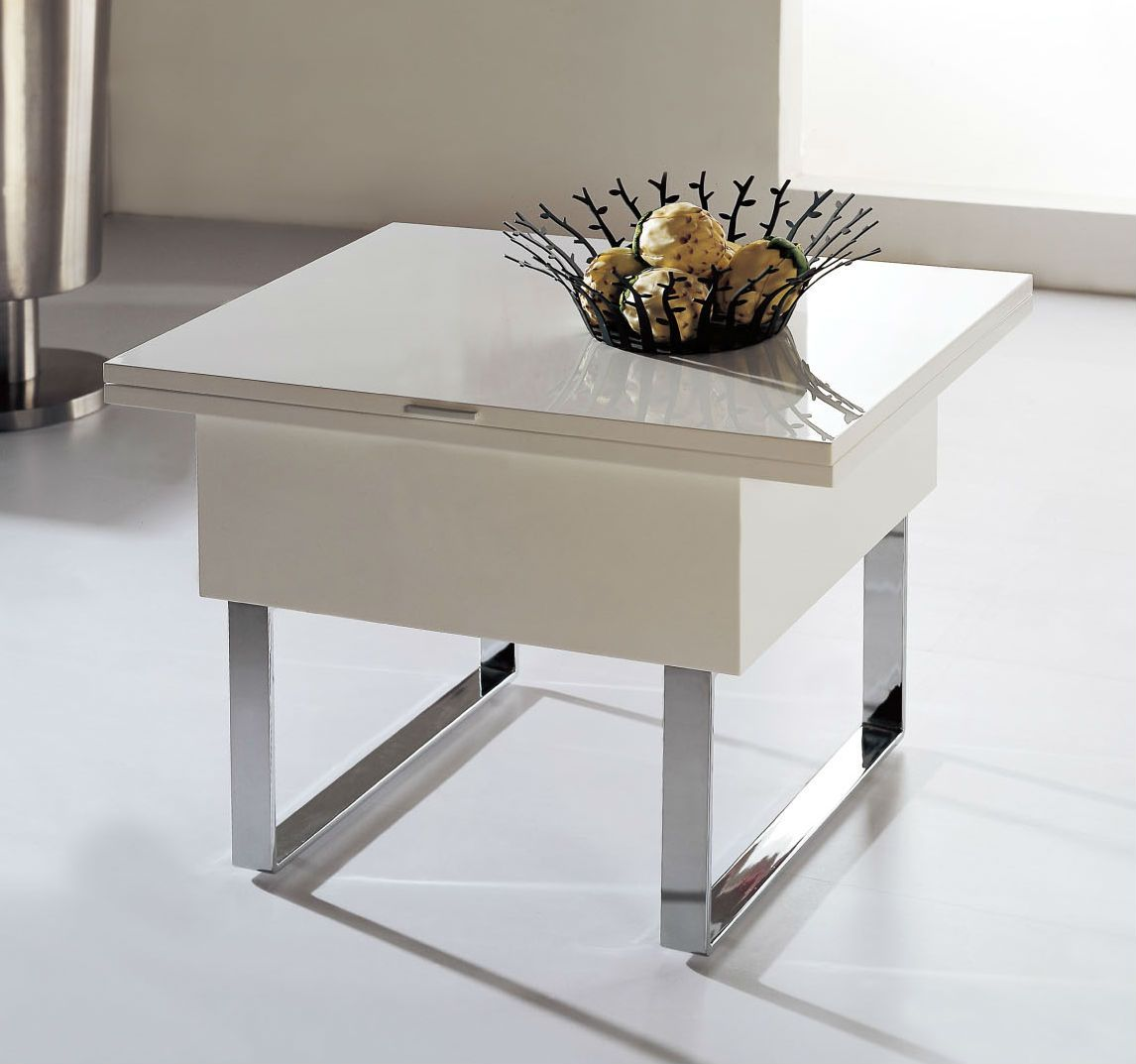 Space Savers Furniture space saving table converts from a coffee tableday into a