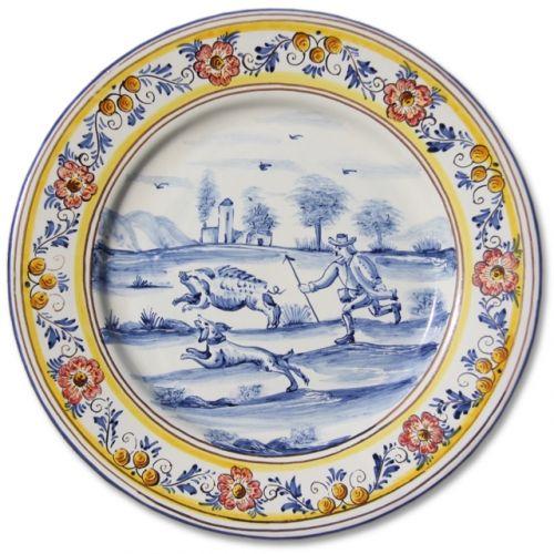 Portuguese Plate Tiles Spanish Antique Majolica Designs XVII XVIII Century HUNTING SCENES  sc 1 st  Pinterest & Portuguese Plate Tiles Spanish Antique Majolica Designs XVII XVIII ...