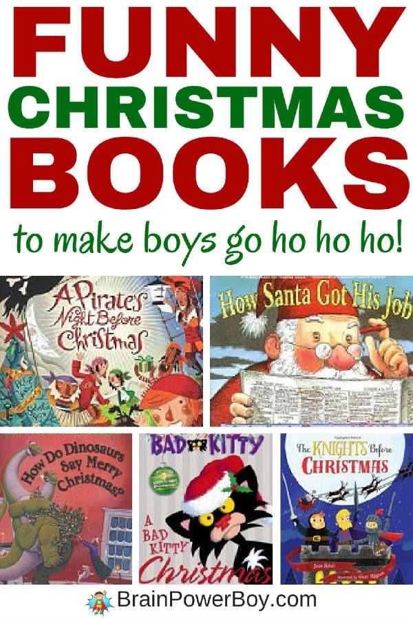 Funny Christmas Books That Will Make Boys Go Ho, Ho, Ho!   Learning ...