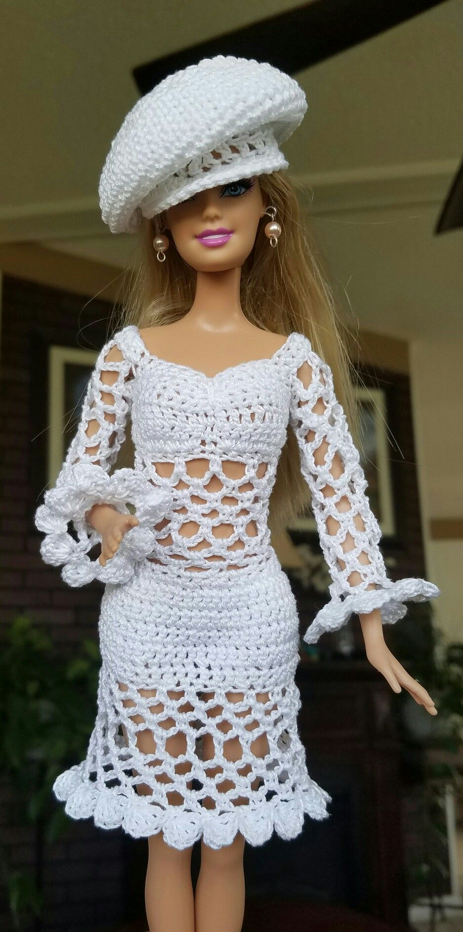 So cute..amazing | Barbie Crochet | Pinterest | Puppenkleider ...
