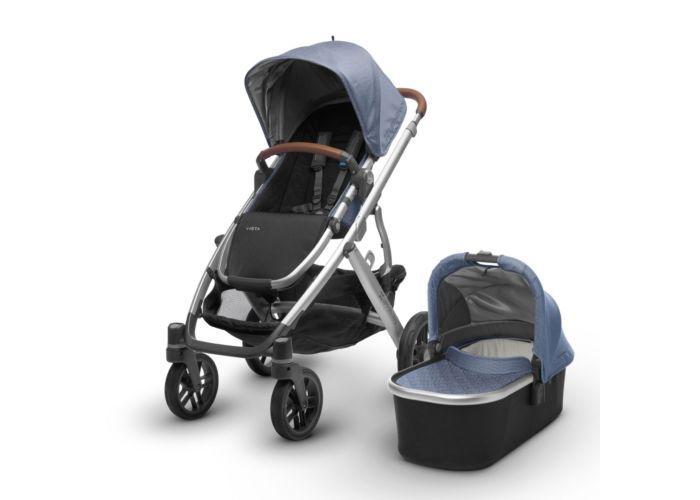 UPPAbaby Vista stroller Silver Frame 2018 | West Coast ...