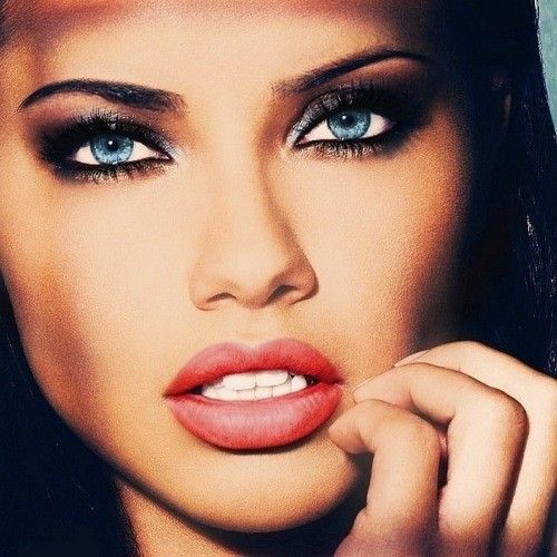 my ideal self would be to look like adriana lima