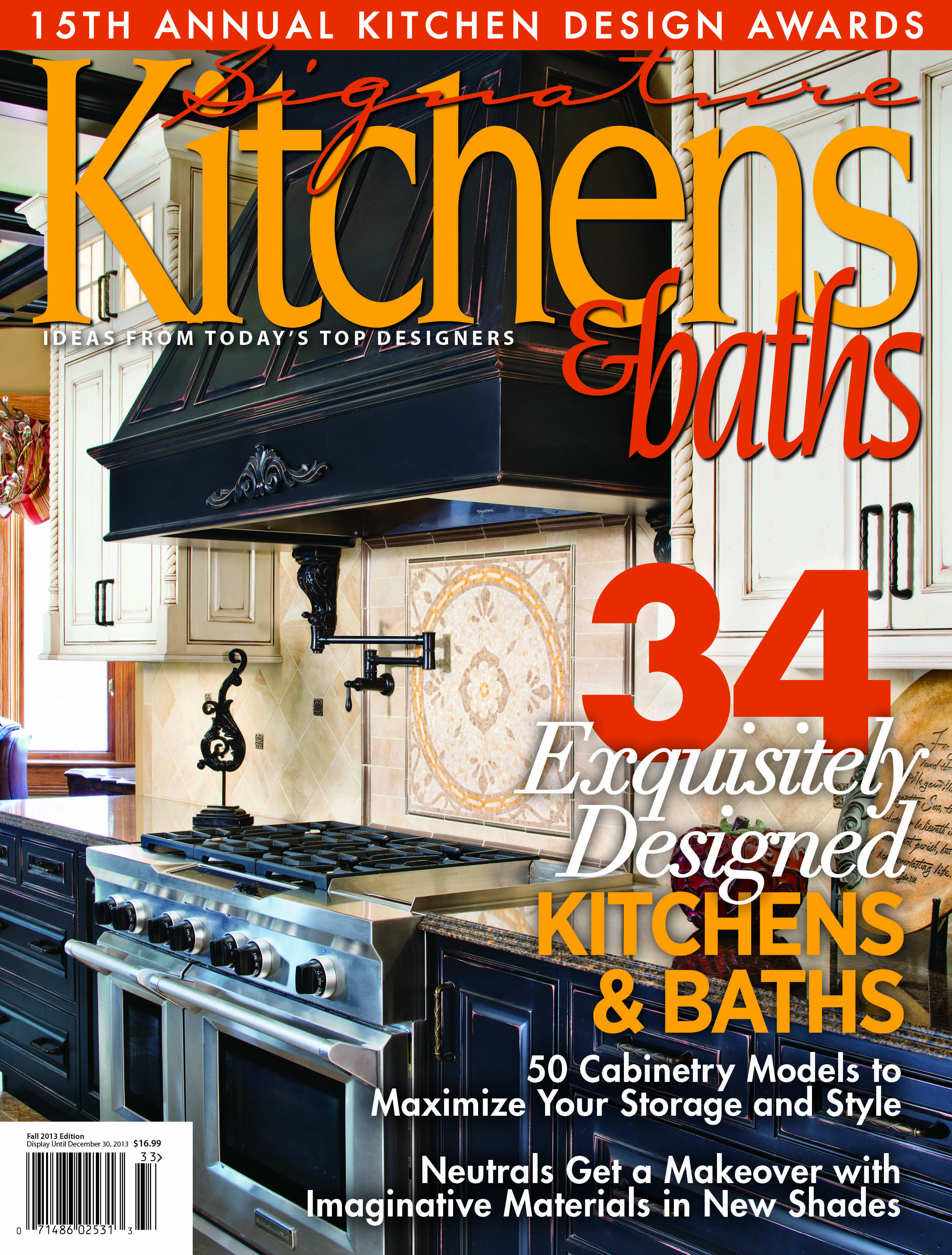 Signature Kitchens U0026 Baths #Magazine Cover Of Fall 2013 Features This  Beautiful Dura Supreme #