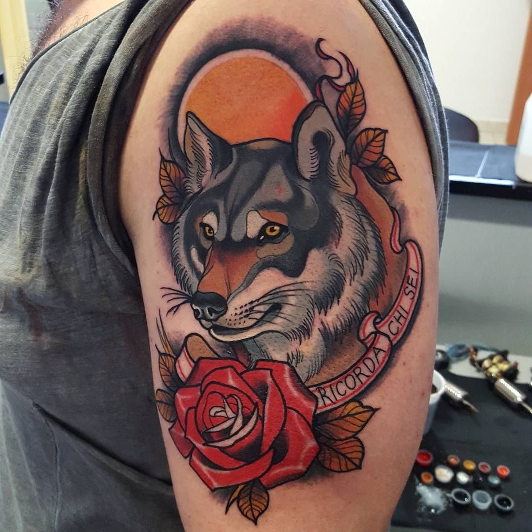 Neo Meaning: Wolf Tattoos, Wolf Tattoo