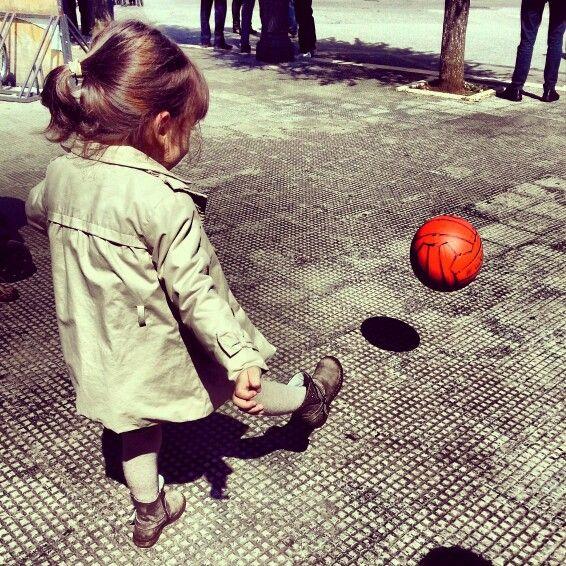 Determinata, risoluta e decisa:goal! #ridieassapori #piazzeditalia #igerspuglia #igersbari #mylittlelove #goal #instamood #weareinpuglia