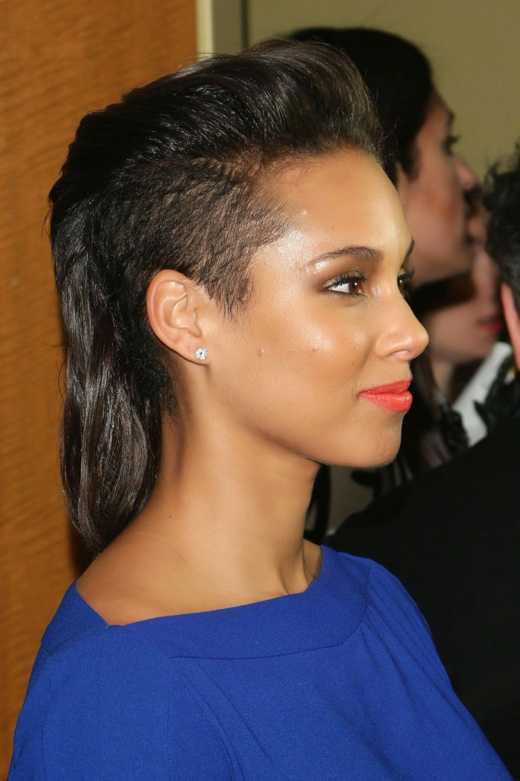Peachy 1000 Images About Alicia Keys Celebrity Hairstyle On Pinterest Short Hairstyles Gunalazisus