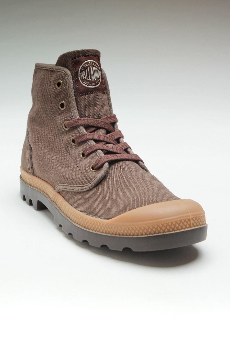 1cc84b6be0 Palladium Pampa Hi Chestnut/Putty | Casual Man | Palladium boots ...