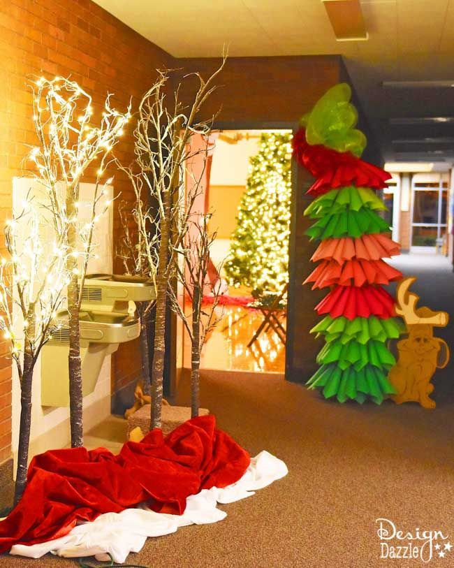 Church Christmas Party Idea: DIY Whoville / Grinch Themed Party (Supplies, Decorations, etc) #partybudgeting
