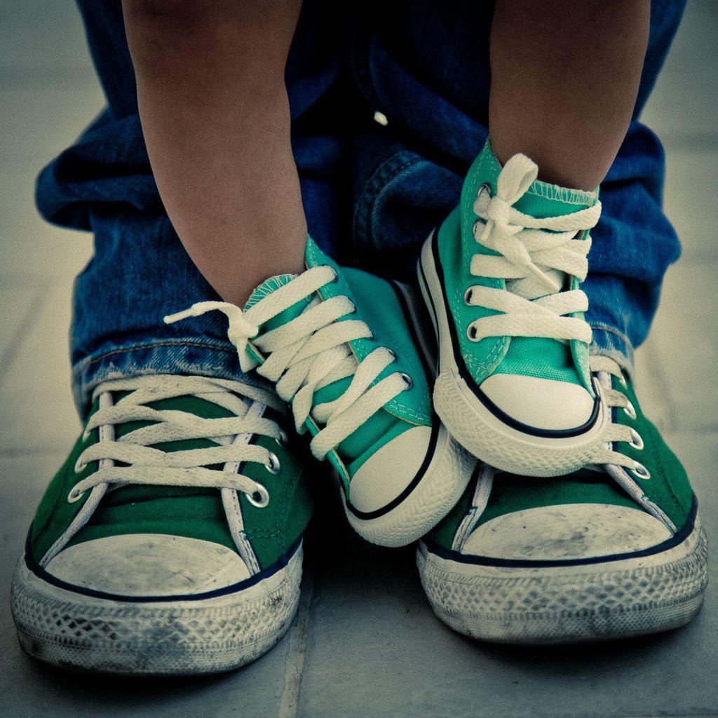 faa13de6fb959e Mini Me Converse Style! one style one look one family  Converse  allstar   green  minime  onefamily