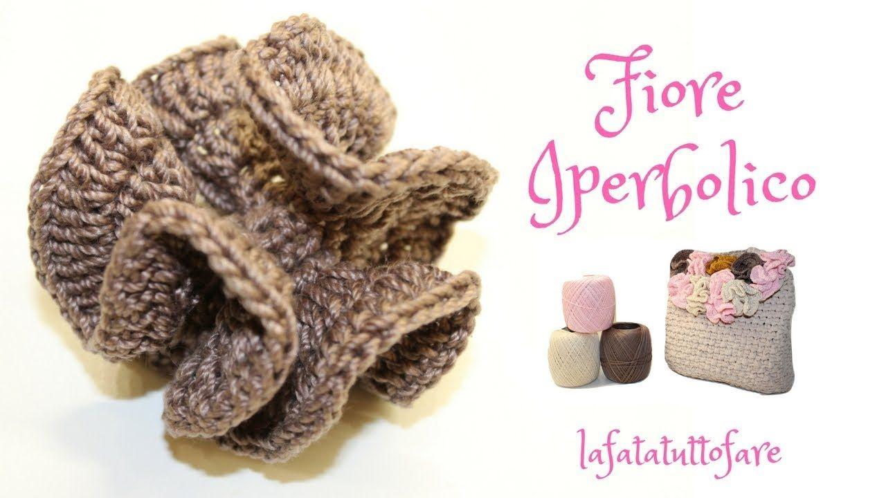 ricco e magnifico prezzo migliore prima clienti TUTORIAL: fiore iperbolico/ fiore zaino primule ...