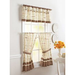 Better Homes And Gardens Cafe Kitchen Curtain Set